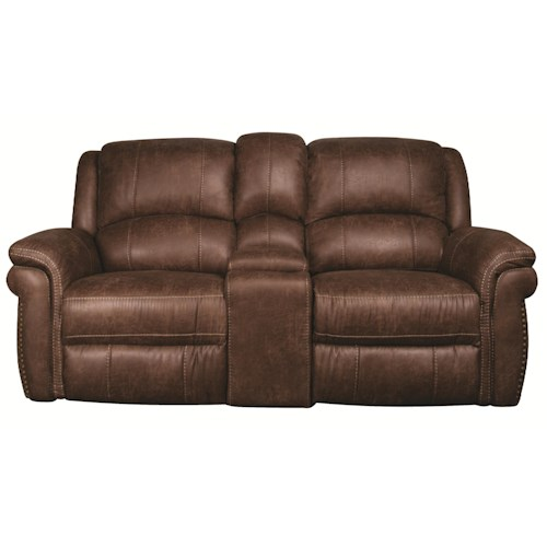 Morris Home Furnishings Beau 3-Piece Reclining Loveseat