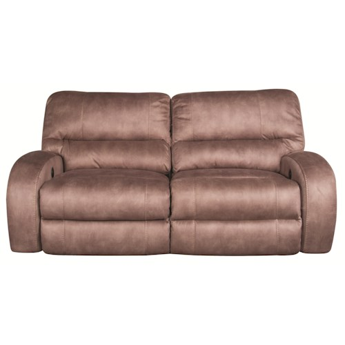Morris Home Furnishings Caiden Power Reclining Sofa