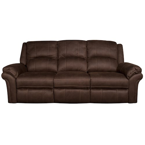 Morris Home Furnishings Gary Reclining Sofa