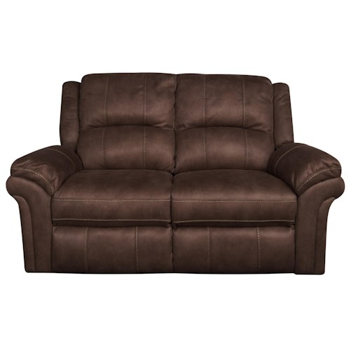 Morris Home Furnishings Gary Reclining Loveseat