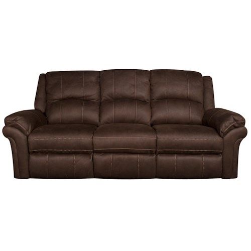 Morris Home Furnishings Gary Power Reclining Sofa