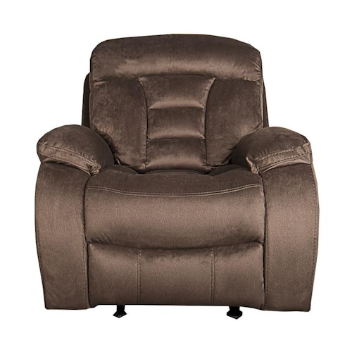 Morris Home Furnishings Merrick Glider Recliner