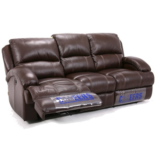 Cheers Sofa UXW8626M Casual Reclining Sofa with Bustle Back