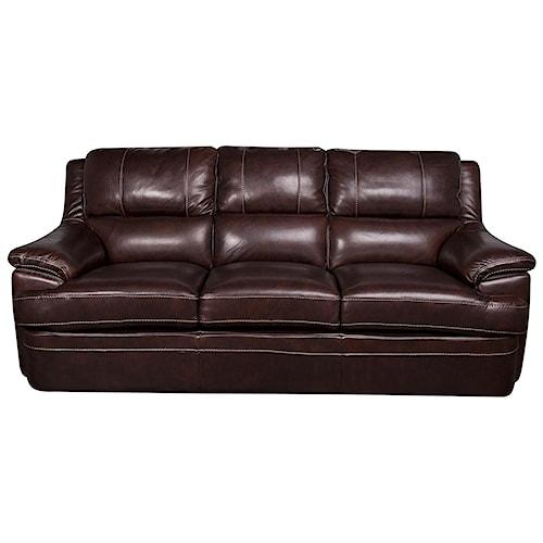 Morris Home Furnishings Zane - Leather-Match* Sofa
