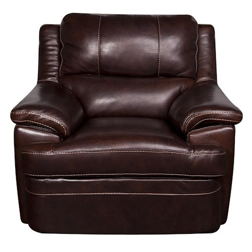 Morris Home Furnishings Zane - Leather-Match* Chair