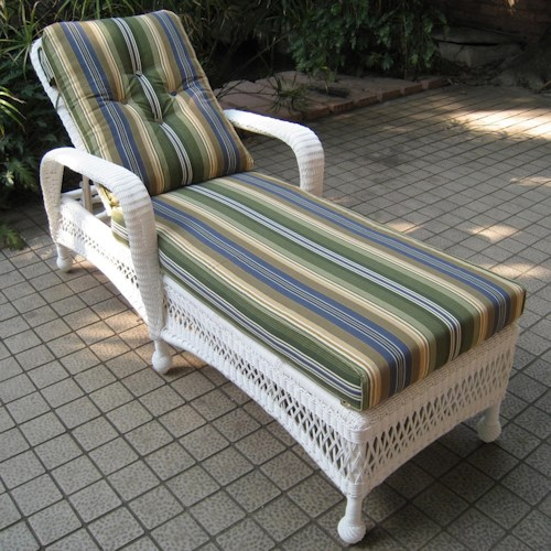 NorthCape International St Lucia Woven Outdoor Single Adjustable Chaise Lounge