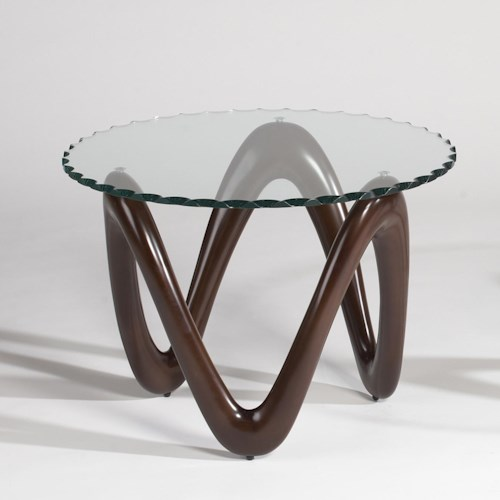 Chintaly Imports 1147 Round End Table
