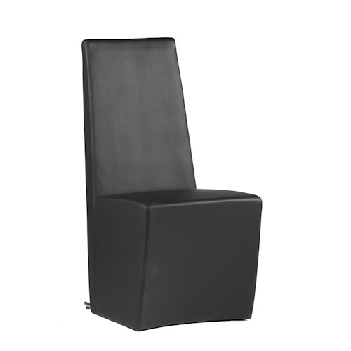 Chintaly Imports Cynthia Black Side Chair