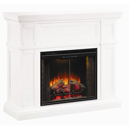 Morris Home Furnishings Artesian Electric Fireplace