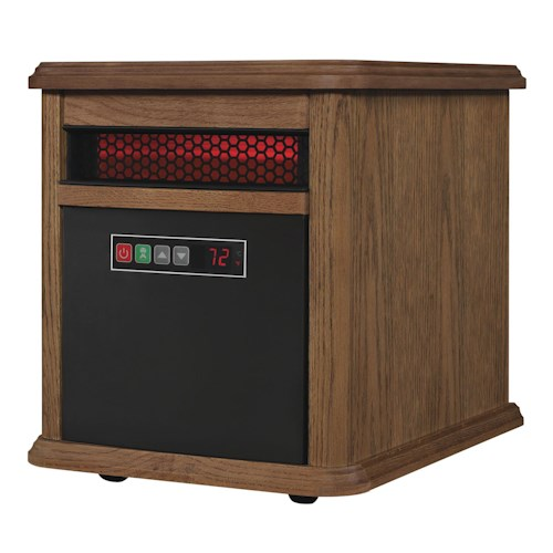 Morris Home Furnishings Infrared Heater O142 1000 Sq Ft. Portable Infrared Heater
