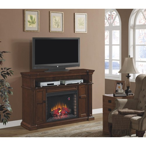 Morris Home Furnishings Ithaca Ithaca 2pc Fireplace w/Inse