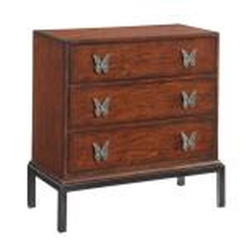 Morris Home Furnishings Accents Brighton 3 Drawer Chest