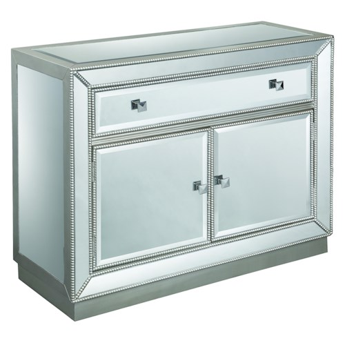 Coast to Coast Imports Accents by Andy Stein One Drawer Two Door Cabinet