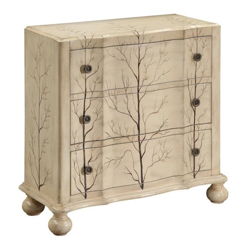 Morris Home Furnishings Burma 3 Drawer Chest