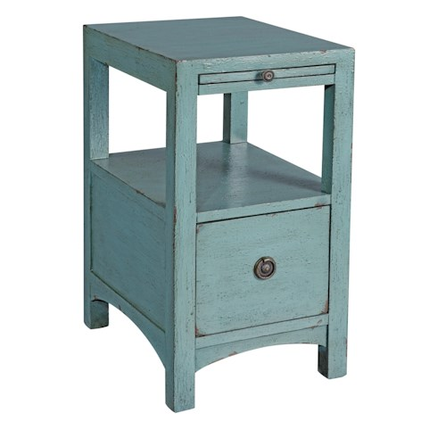 Coast to Coast Imports Coast to Coast Accents One Drawer Accent Table