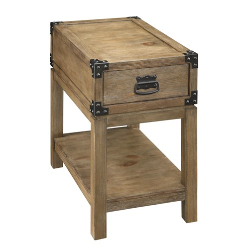Coast to Coast Imports Coast to Coast Accents One Drawer Chairside Table