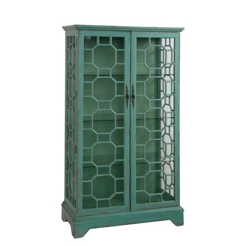 Coast to Coast Imports Coast to Coast Accents Two Door Curio Cabinet
