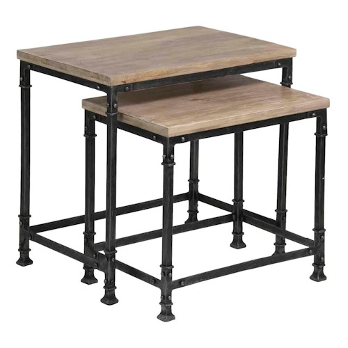 Coast to Coast Imports Coast to Coast Accents Set Of 2 Nesting Tables