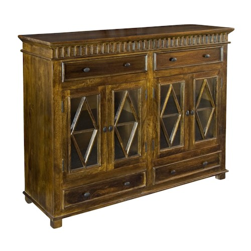 Coast to Coast Imports Coast to Coast Accents Four Door Four Drawer Sideboard