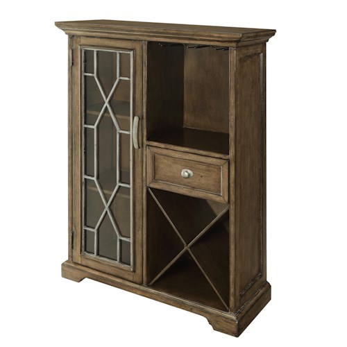 Coast to Coast Imports Coast to Coast Accents One Drawer One Door Bar Cabinet