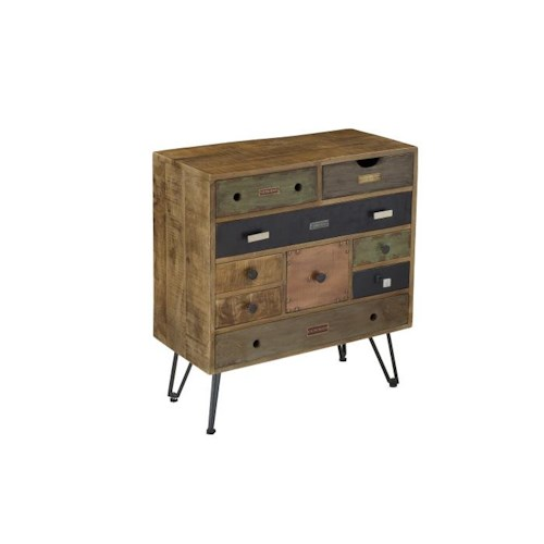 Morris Home Furnishings Grenada 9 Drawer Chest