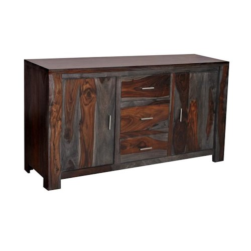 Coast to Coast Imports Grayson 3 Drawer 2 Door Dining Buffet