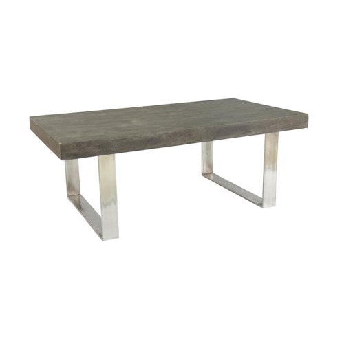 Coast to Coast Imports Jadu Accents Rectangular Cocktail Table