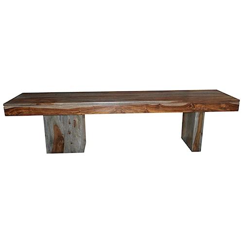 Coast to Coast Imports Grayson Wooden Dining Bench