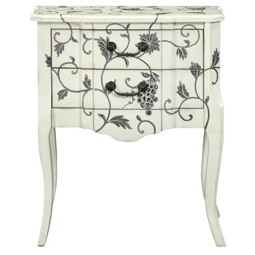 Morris Home Furnishings Lithuania 2 Drawer Accent Table