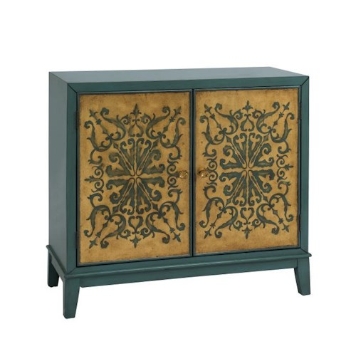 Coast to Coast Imports Occasional Accents 2 Door Accent Cabinet