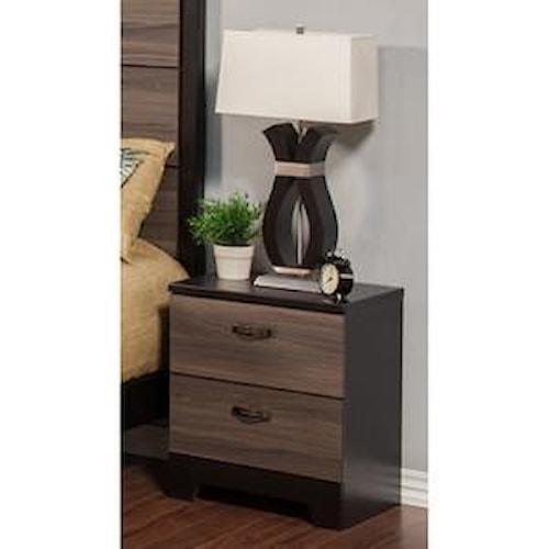 Sandberg Furniture 438 Nova Night Stand