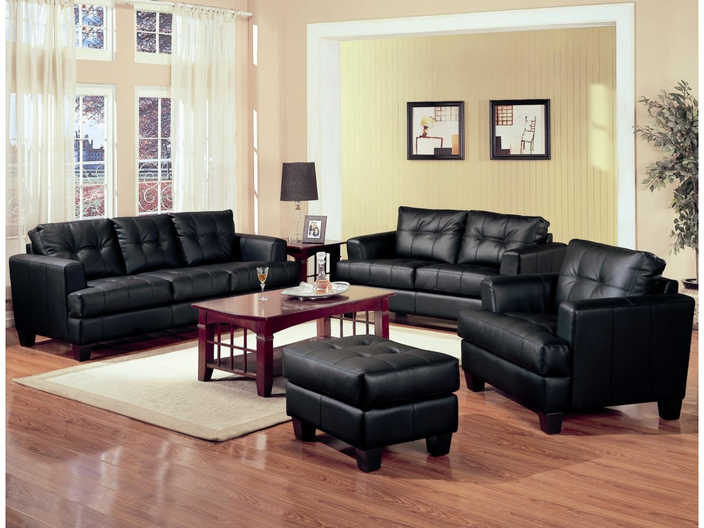 Shown in Room Setting with Sofa, Loveseat, and Chair