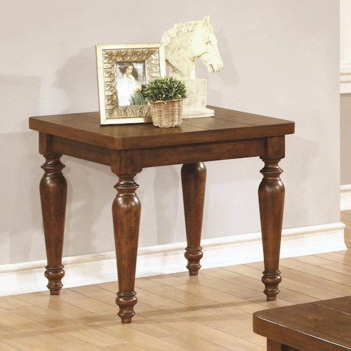 Coaster 70357 Square Side Table