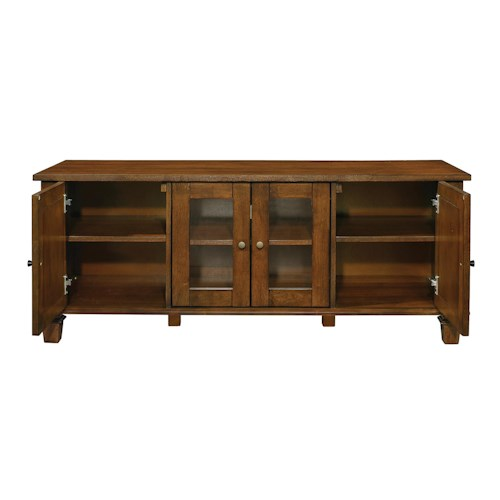 Coaster 70440 Warm Brown TV Console