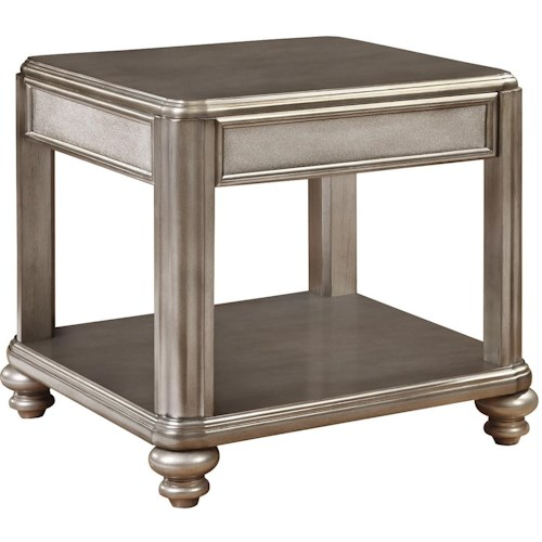 Coaster 70461 End Table with Shelf
