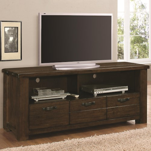 Coaster 70474 Rustic TV Console