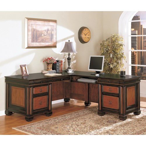 Coaster Chomedey Traditional L-Shaped Desk
