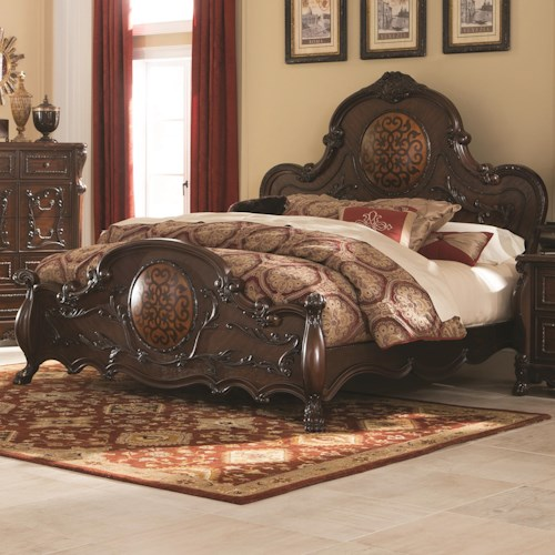 Coaster Abigail King Bed With Lion Claws