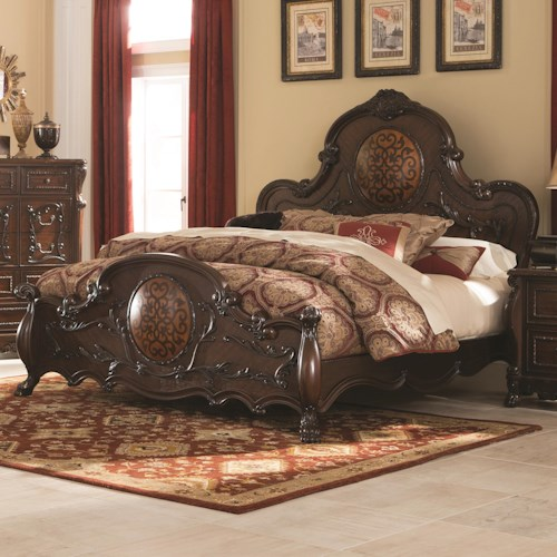 Coaster Abigail Queen Bed With Lion Claws