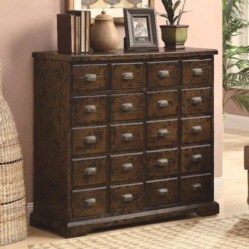Coaster Accent Cabinets Apothecary Accent Cabinet