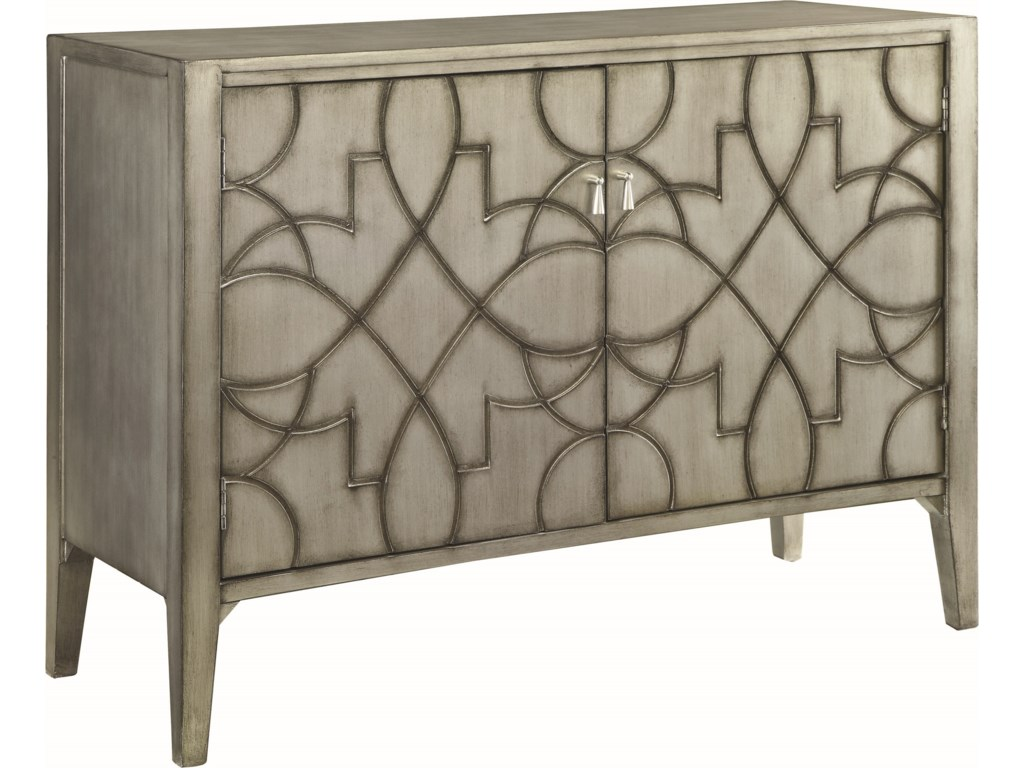 Living Room Chests Cabinets Coaster Accent Cabinets Accent Cabinet With Carved Doors Del Sol