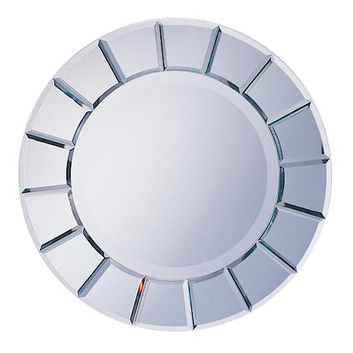 Coaster Accent Mirrors Round Sun-Shape Mirror