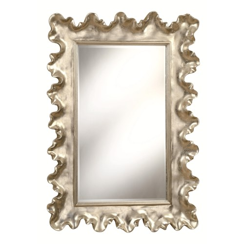 Coaster Accent Mirrors Seashell Raised Frame Mirror