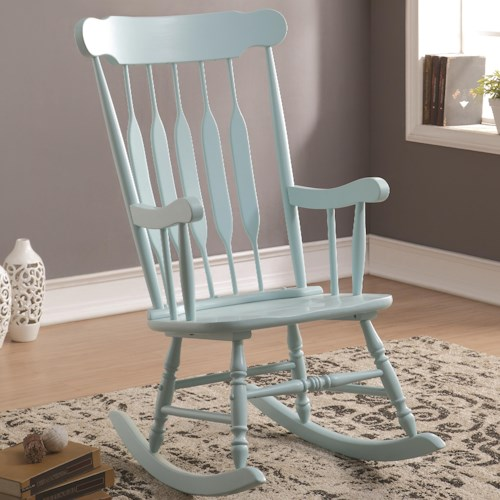 Coaster Accent Seating Accents Rocking Chair