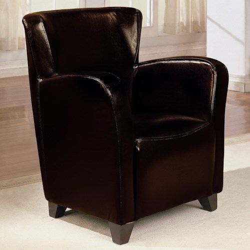Coaster Accent Seating Upholstered High Back Chair