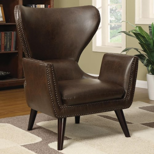 Coaster Accent Seating Transitional Accent Chair