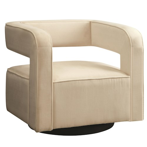Coaster Accent Seating Sleek Contemporary Accent Chair