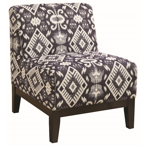 Coaster Accent Seating Slipper Upholstered Accent Chair