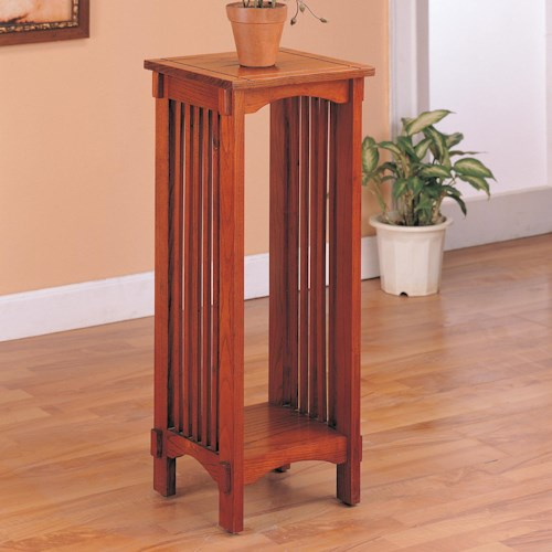Coaster Accent Stands Mission Style Square Plant Stand