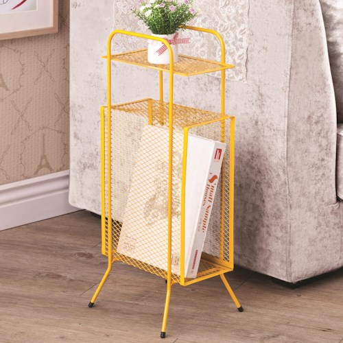 Coaster Accent Tables Metal Storage Table